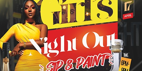 Girl's Night Out Sip & Paint tickets