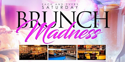 #EverySATURDAY | BRUNCH MADNESS @ 5th&Mad | Hosted