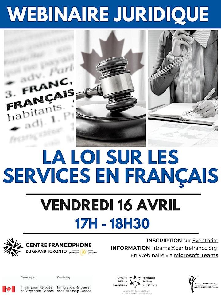 Webinaire juridique : La loi sur les services en français image