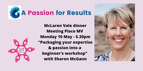 McLaren Vale dinner - Women in Business Regional Network - Monday 10/5/2021 tickets