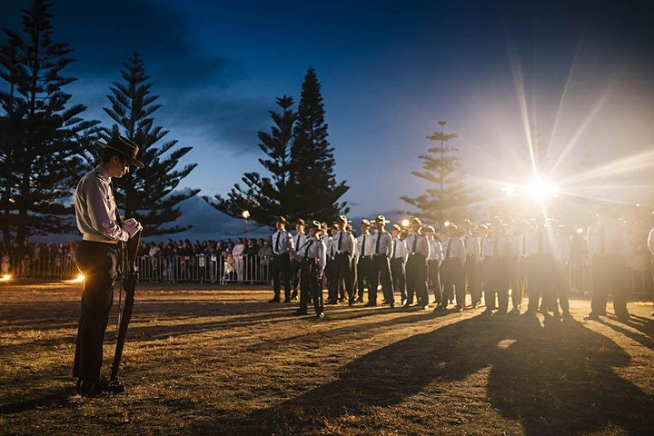 Anzac Day - Coogee Dawn Service 2021 image