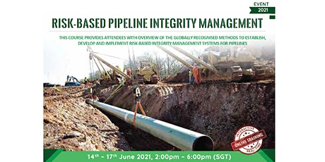 Risk Based Pipeline Integrity Management biglietti