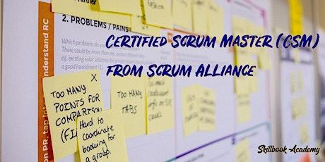 CSM®- Aug 12/13 - Eastern: Certified ScrumMaster® from Scrum Alliance® tickets