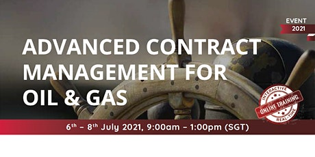 Advanced Contract Management for Oil & Gas tickets