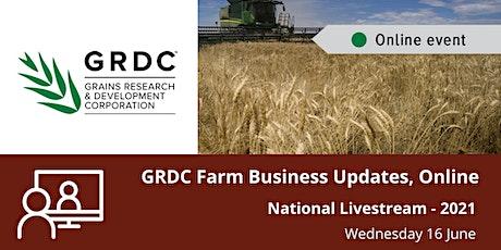 GRDC  National Livestream - June 2021 tickets