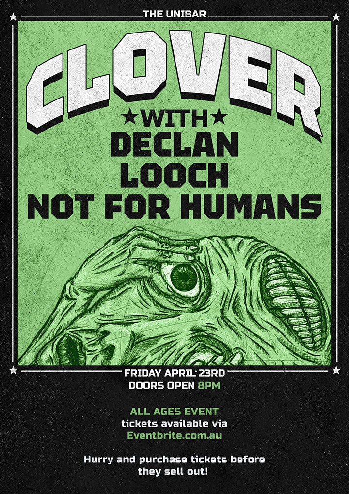 Clover + Declan + Looch + Not For Humans image