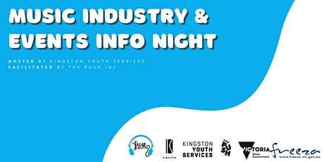 Music and events industry info night tickets