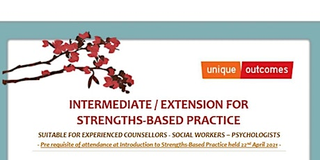 Intermediate/ Extension for Strength Based Practice (Day 2) tickets