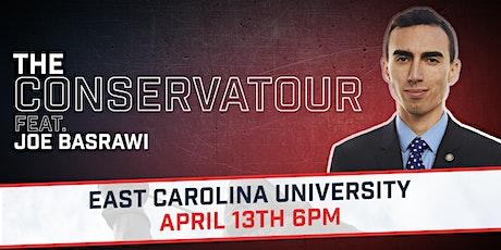 The CONSERVATOUR Feat. Joe Basrawi @ East Carolina tickets