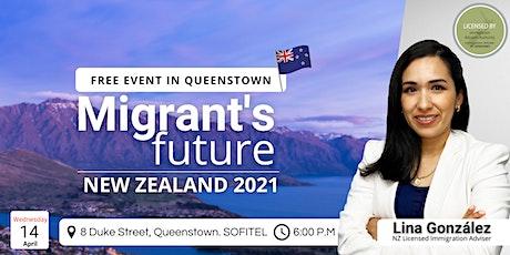 Migrant's Future. New Zealand 2021 tickets