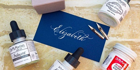 Introduction to Copperplate Flourishing - Online ZOOM Class tickets