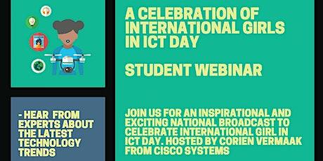 A Celebration of International Girls in ICT Day - 2021 Webinar tickets