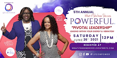 5th Annual, What If She Knew She Was Powerful 2021 tickets