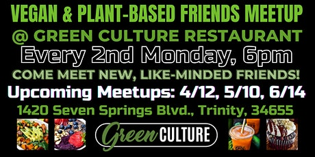 Vegan & Plant-Based Friends Meetup tickets