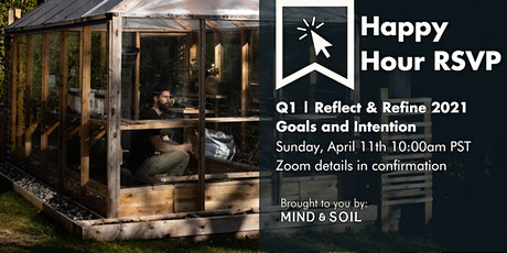 Q1 | Reflect & Refine 2021 Goals and Intention tickets
