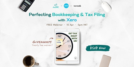 'Perfecting Bookkeeping & Tax Filing with Xero' Webinar by AsiaBC x WeWork tickets