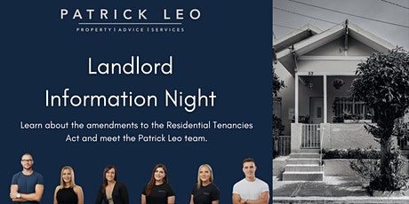 Landlord Information Night  for VIC Landlords tickets