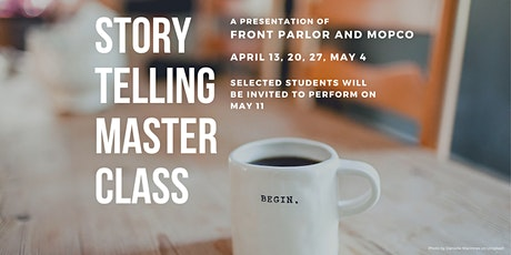 Storytelling Master Class tickets