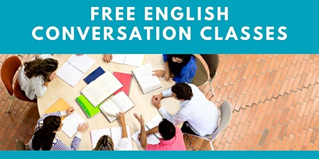 English Conversation class - Intermediate  Conversation - 1:30pm - 2:45pm tickets