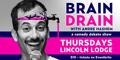Brain Drain:  Comedy Debate Show with Chicago's Best Standup Comics tickets
