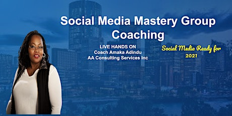 Social Media Mastery Program Intake EVENT Information and Q&A entradas