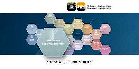 """BEM-AG 8 """"Ladeinfrastruktur"""" April 2021 Tickets"""
