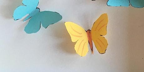 Paper butterflies with Alberto Fusco tickets