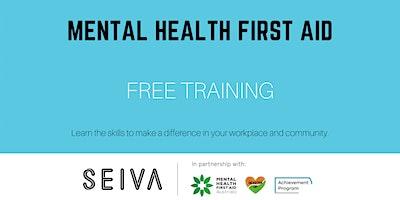 Workplace Mental Health First Aid, Group 3: Fri 4/6 + Fri 11/6