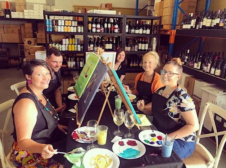 Sip, Paint & Create @ Hanging Tree Wines! image