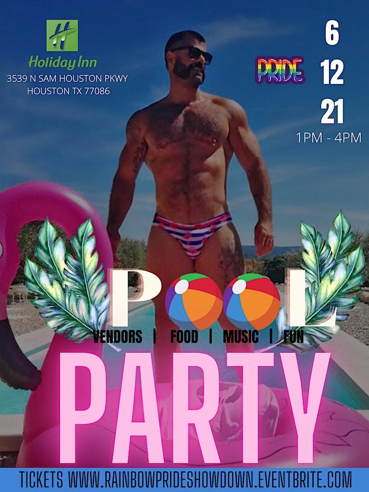 Rainbow - Pride Pool Party & Talent  Showcase image