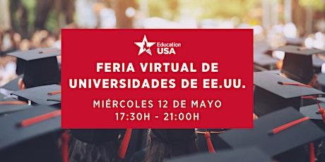 Feria de Universidades de EE.UU. #EdUSASpainFair2021 entradas