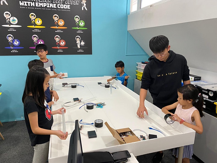 Code & Create Lightsabers With Empire Code This Summer! image
