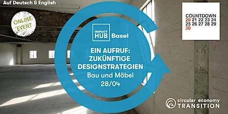 Ein Aufruf: Zukünftiges Design für Gebäude und Innen Tickets