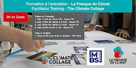Formation animateur Fresque du Climat|Climate Collage Facilitation Training tickets