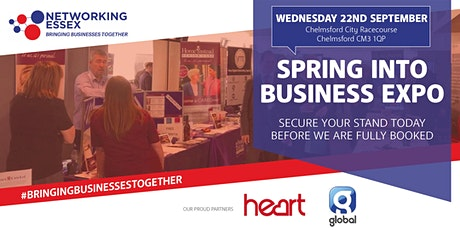 Spring into Business Expo  22nd September 2021 10.30am-15.30pm tickets