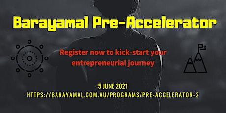 2021 Barayamal Pre-Accelerator tickets