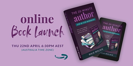 The 20-Minute Author Book Launch - AUSTRALIA tickets