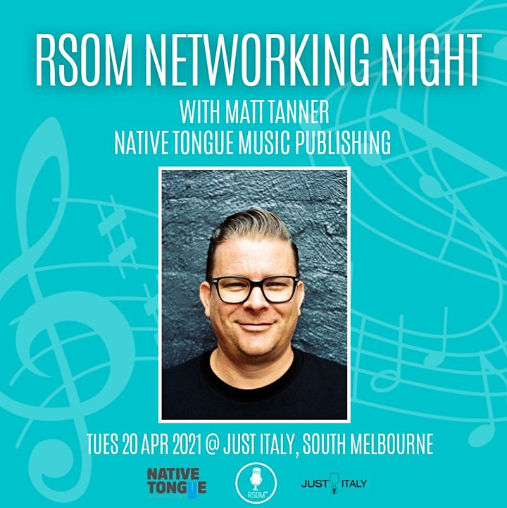 RSOM Networking Night #4 2021 // with Native Tongue Music Publishing image