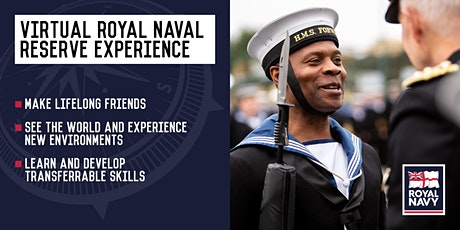 Virtual Royal Naval Reserve Experience - Bristol and Birmingham Units tickets