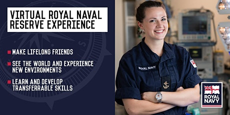 Virtual Royal Naval Reserve Experience - Leeds and Gateshead Units tickets