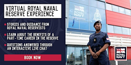 Virtual Royal Naval Reserve Experience - Edinburgh and Glasgow Units tickets