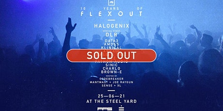 Sold Out: Opening Weekend - 10 Years of Flexout tickets