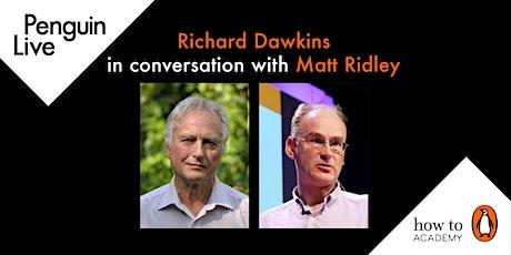 Richard Dawkins in conversation with Matt Ridley tickets