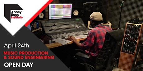 Open Studio Day Music Production & Sound Engineering | 24 April tickets