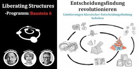 Liberating Structures-Programm: Entscheidungsfindung revolutionieren Tickets
