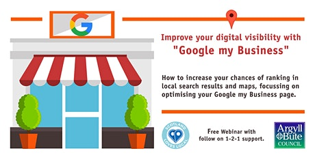"Improve your digital visibility with ""Google my Business"" tickets"