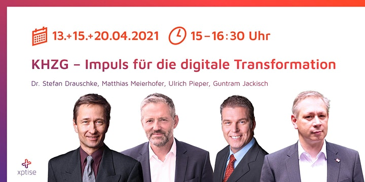 Webinar: KHZG – Impuls für die digitale Transformation: Bild