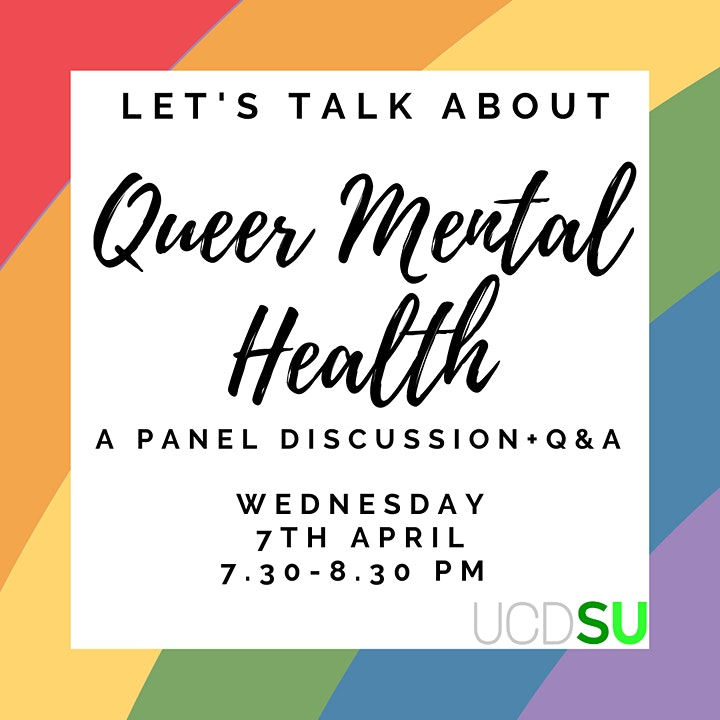 Queer mental Health Panel Discussion with Q&A image