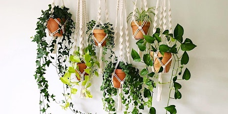 Macramé Plant Hanger Workshop: Wednesday 28th April tickets