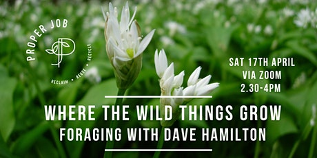 Where the Wild Things Grow - Foraging talk and Q&A with David Hamilton tickets